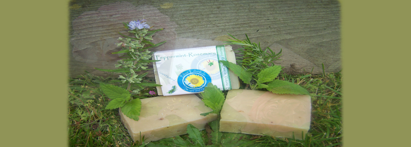 Peppermint-Rosemary soap